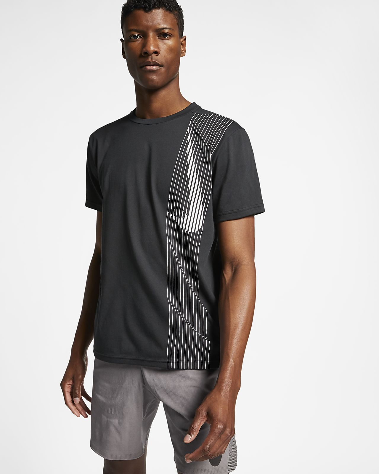 Nike Dri-FIT Trainingstop met korte mouwen voor heren