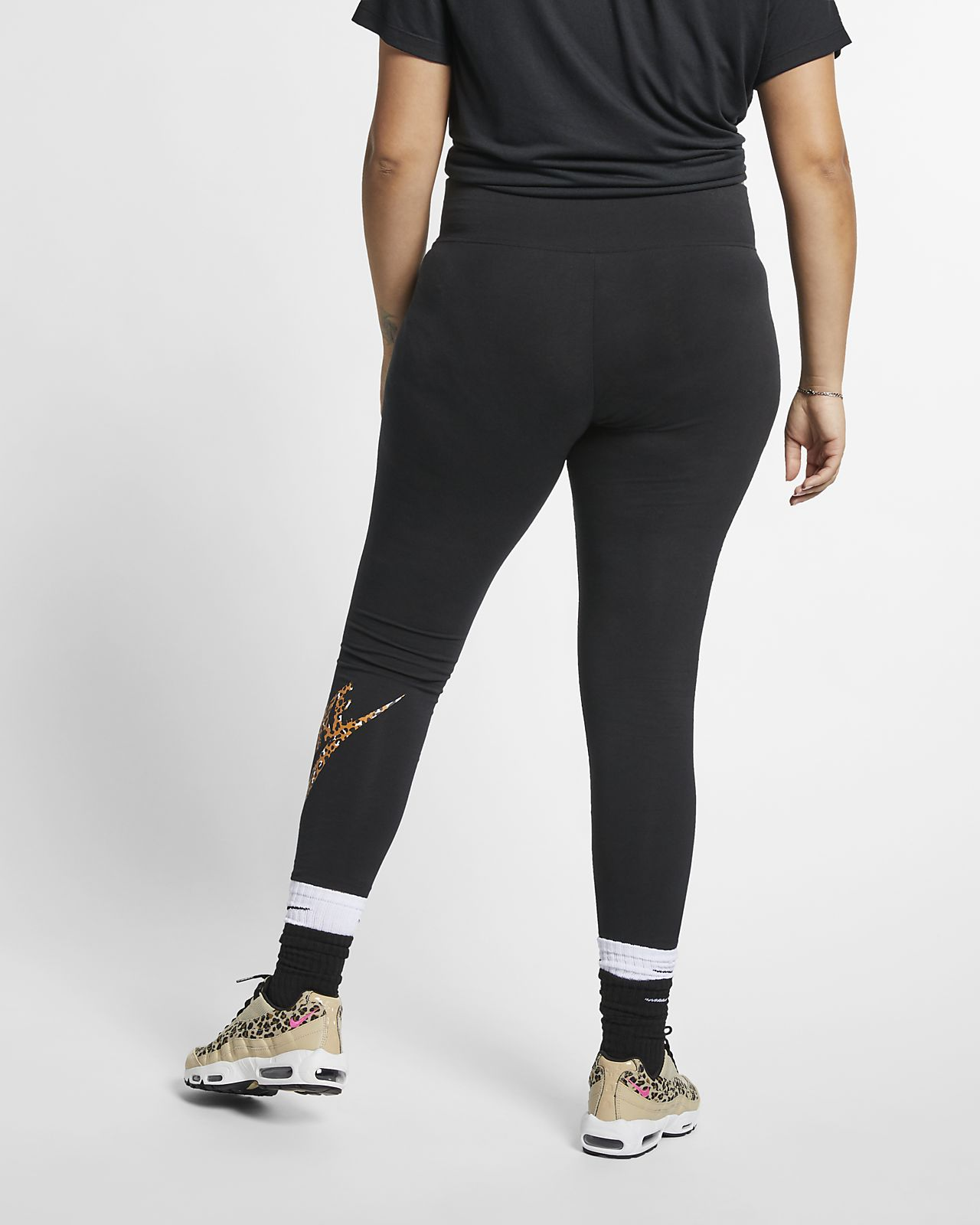77fc50b8e Nike Sportswear Animal Print Women's Leggings (Plus Size). Nike.com
