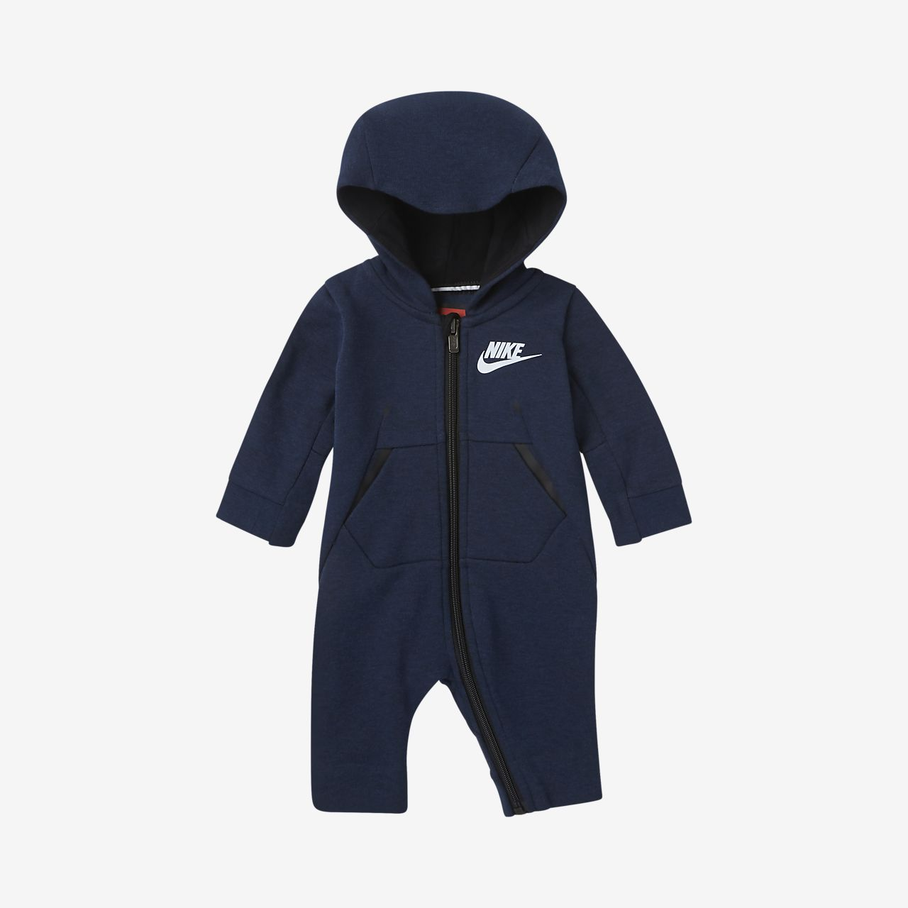 Nike Tech Fleece Infant Hooded Coverall