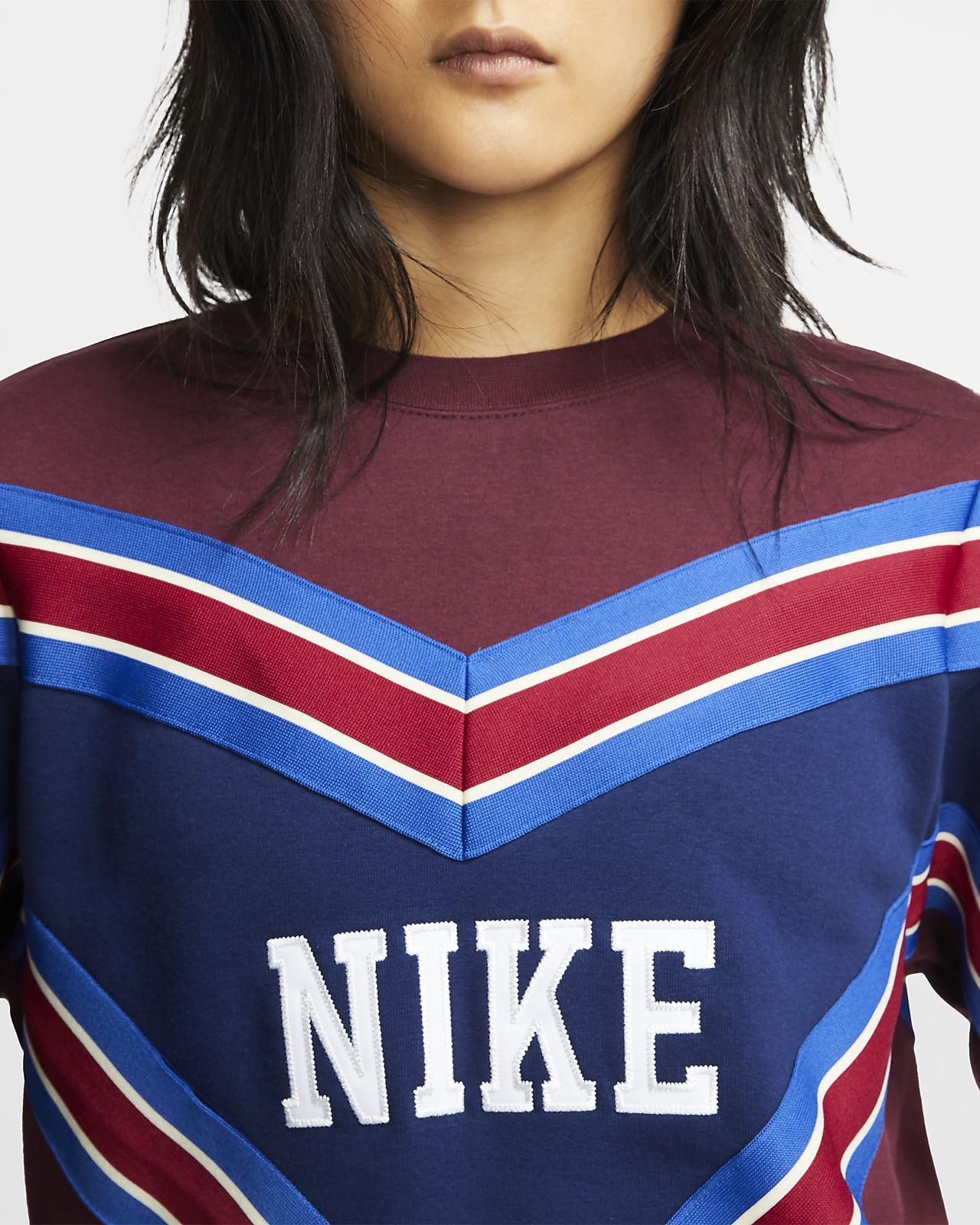Maglia a girocollo in fleece Nike Sportswear NSW Donna