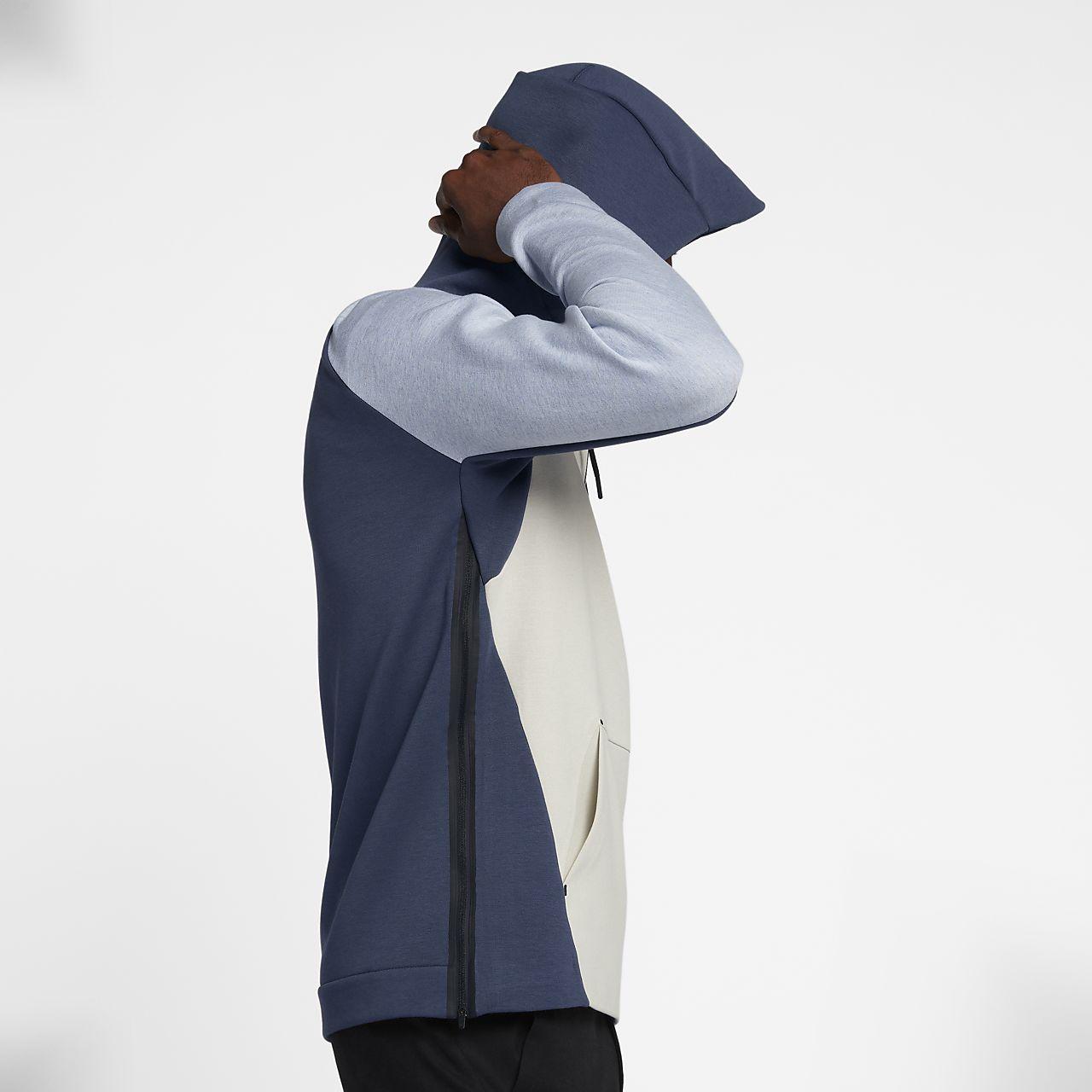Gris Nike Tech Homme Nike Fleece Tech NnXkw80OP