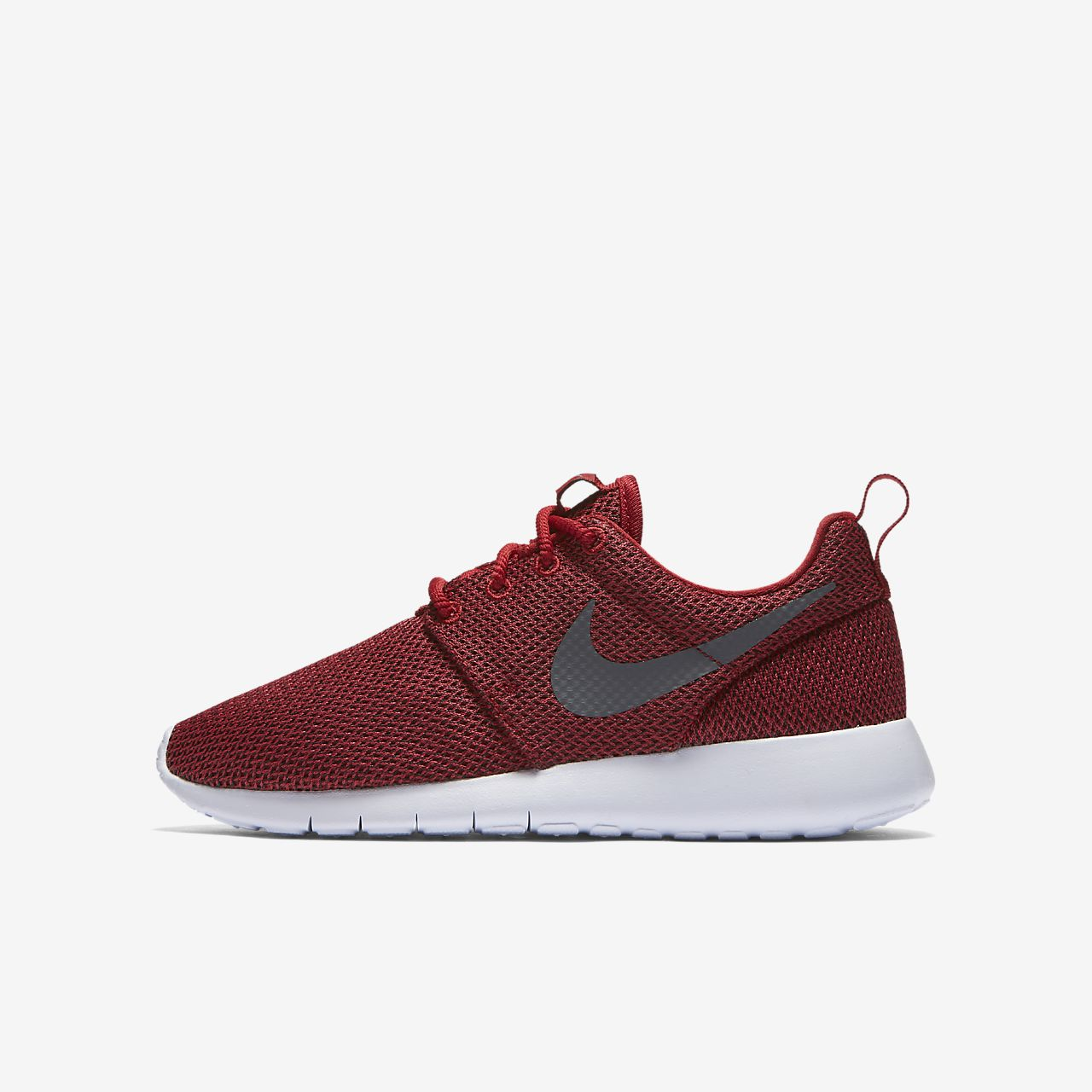 Nike Roshe One Kids Shoes Black/White/Orange