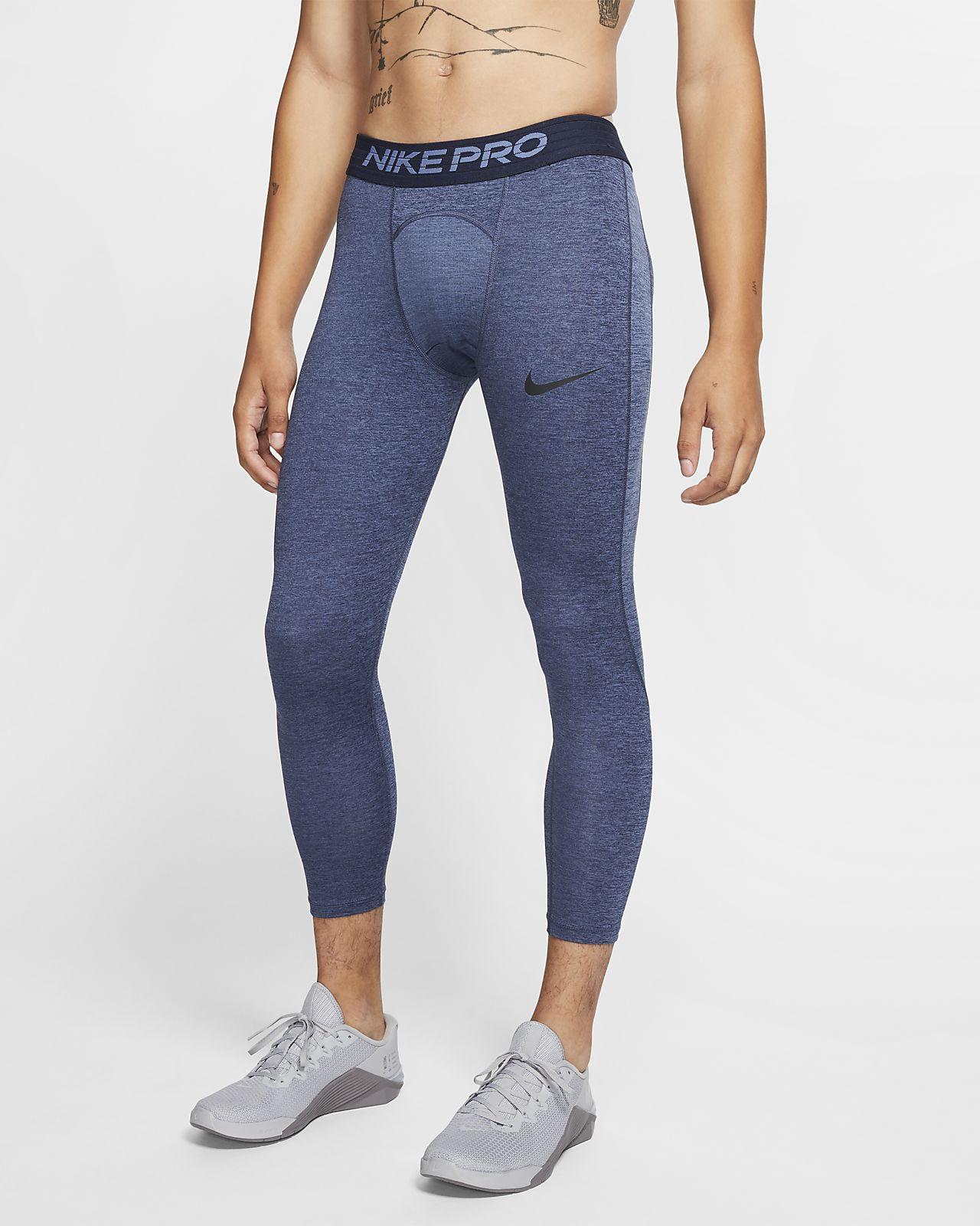 Tights a 3/4 Nike Pro para homem