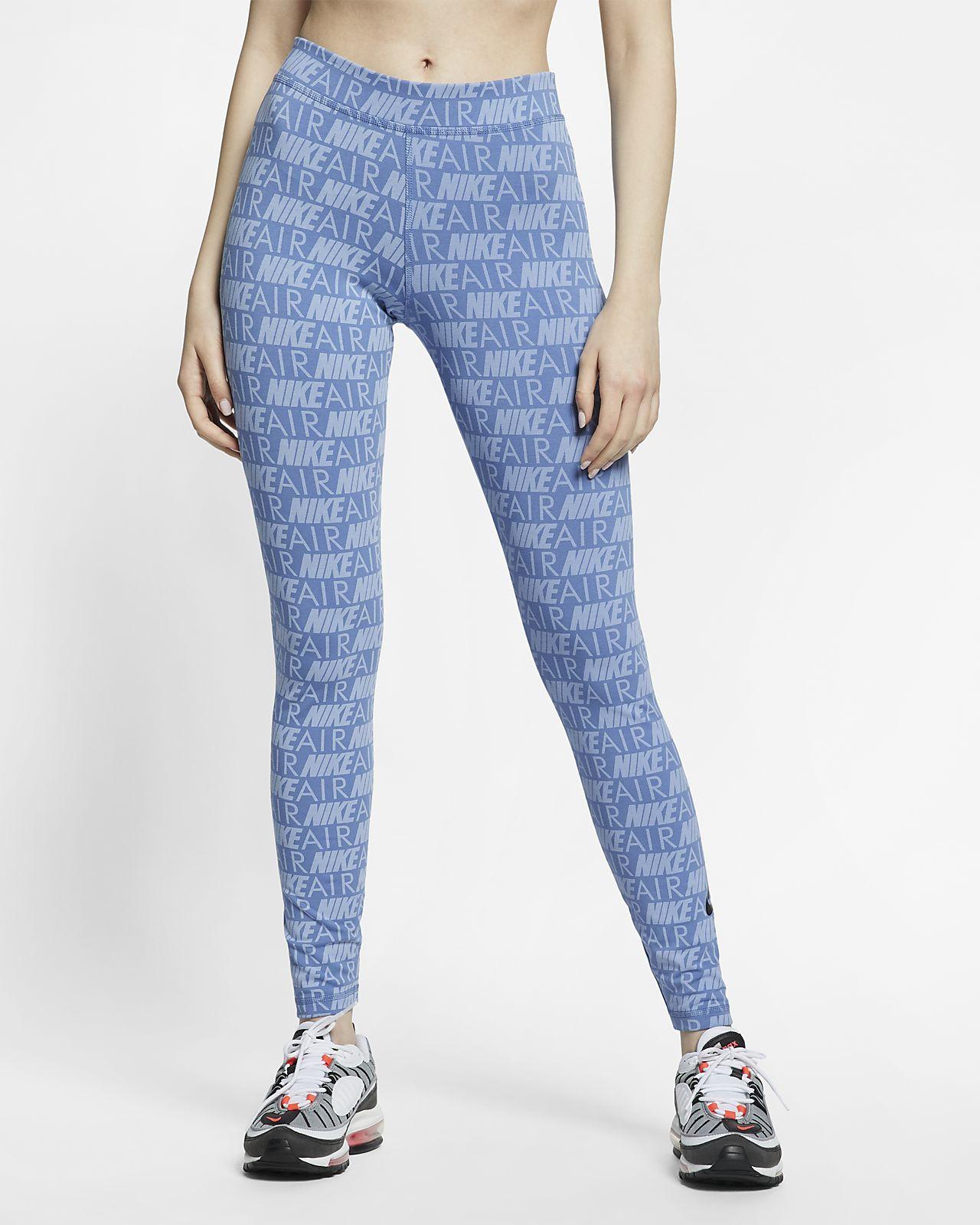 Nike Air mønstret leggings til dame