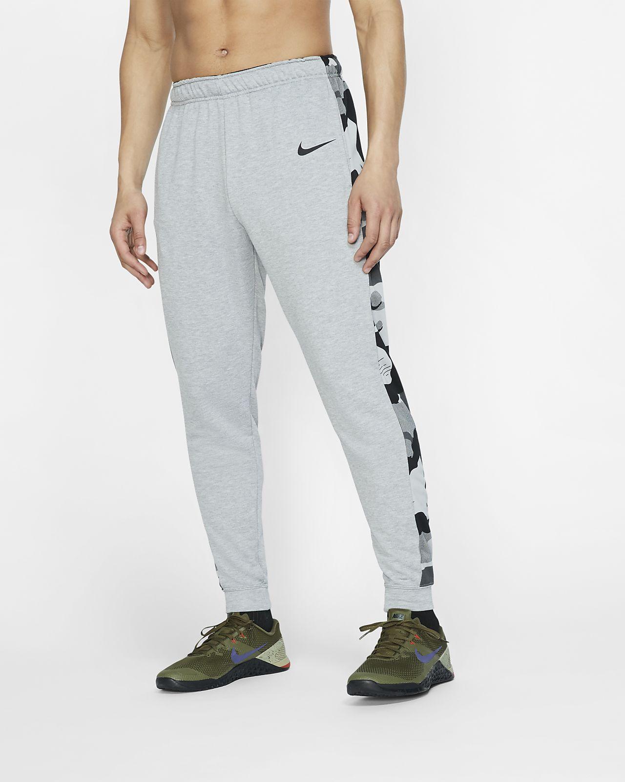Nike Dri-FIT schmal zulaufende Fleece-Trainingshose für Herren