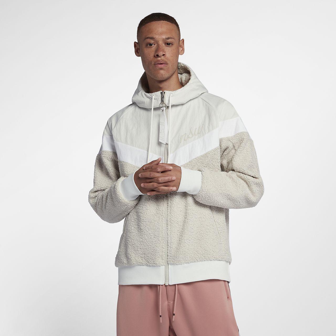 Nike Sportswear Windrunner sherpajakke til herre