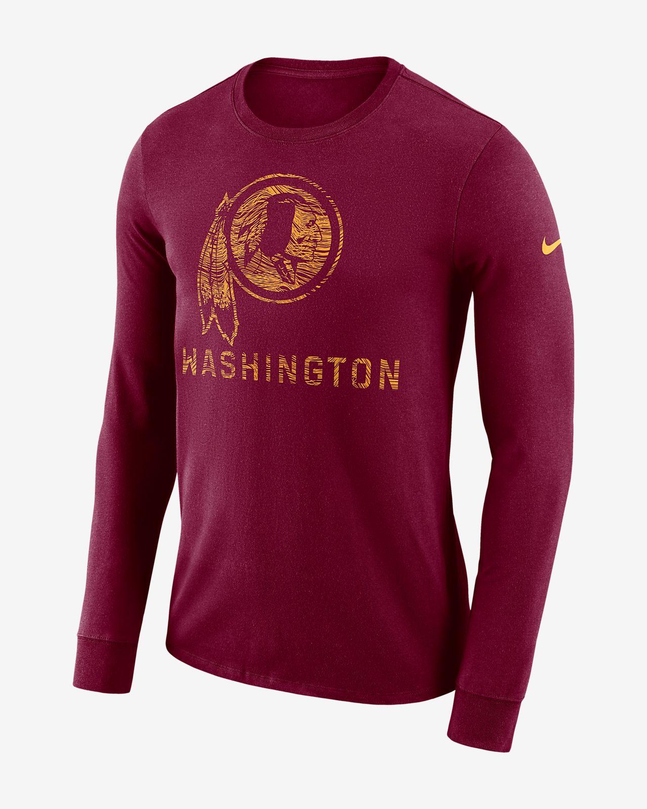 869356fa899d15 Nike Dri-FIT Seismic (NFL Redskins) Men s Long-Sleeve T-Shirt. Nike.com