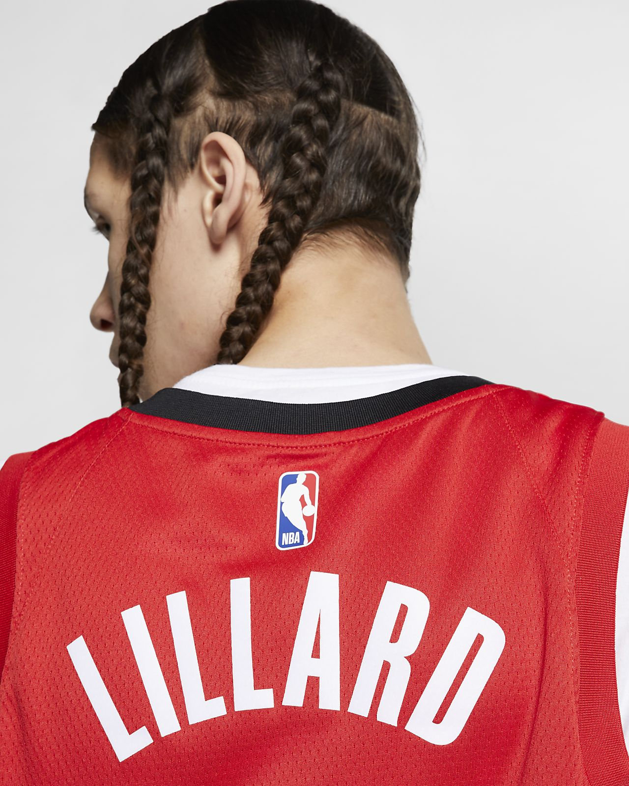 c2483cad1 ... Camiseta conectada Nike NBA para hombre Damian Lillard Earned City  Edition Swingman (Portland Trail Blazers