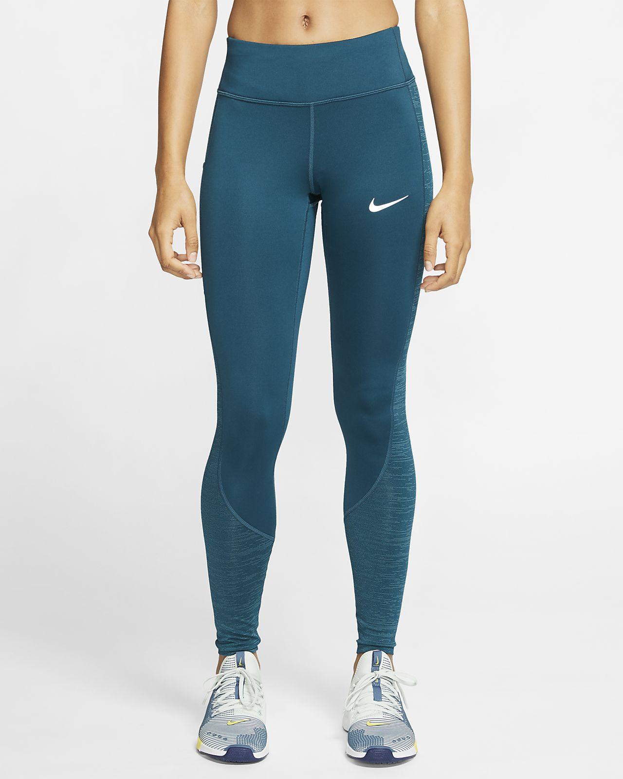 Tights da running caldi Nike Racer - Donna