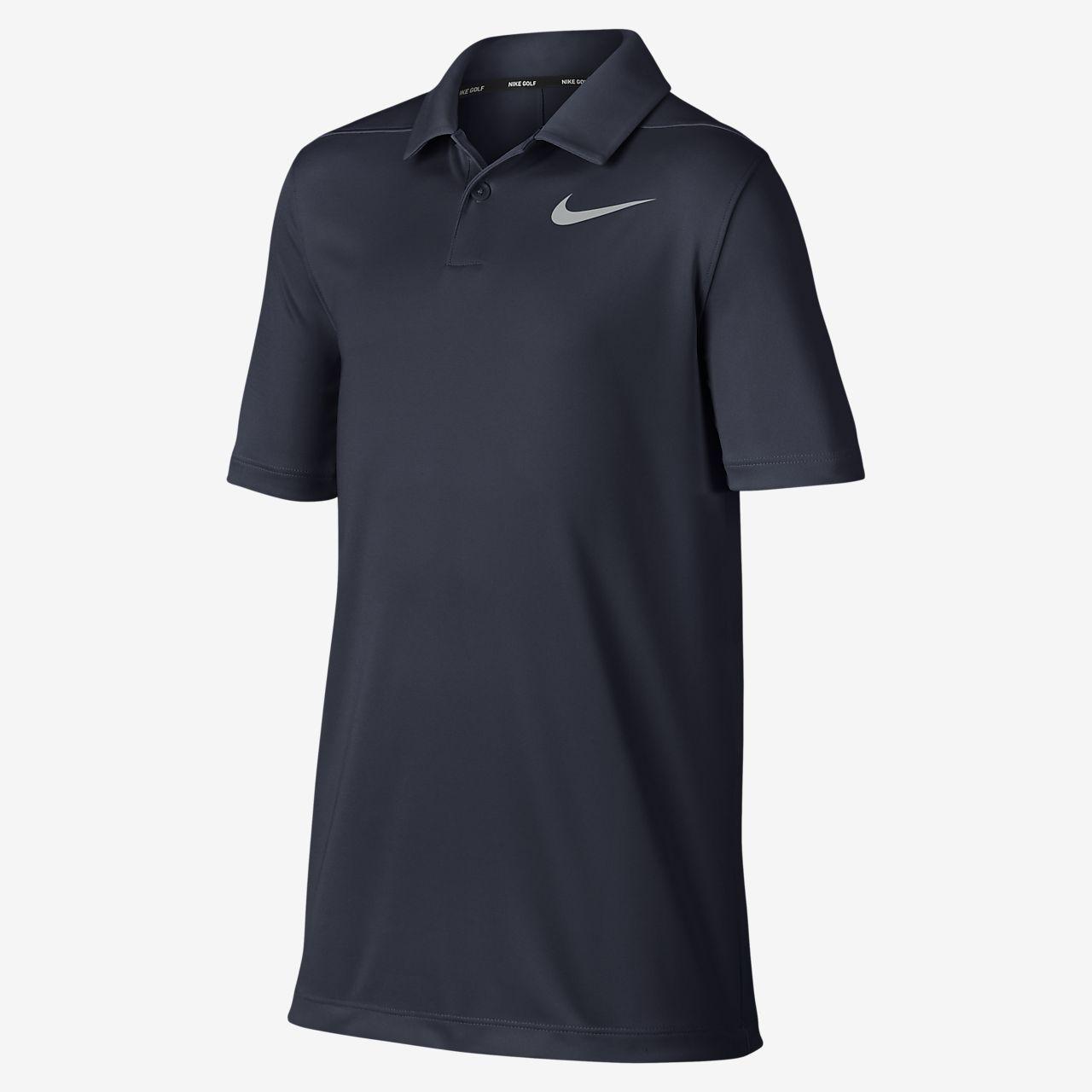 Polo de golf para niño talla grande Nike Dri-FIT Victory