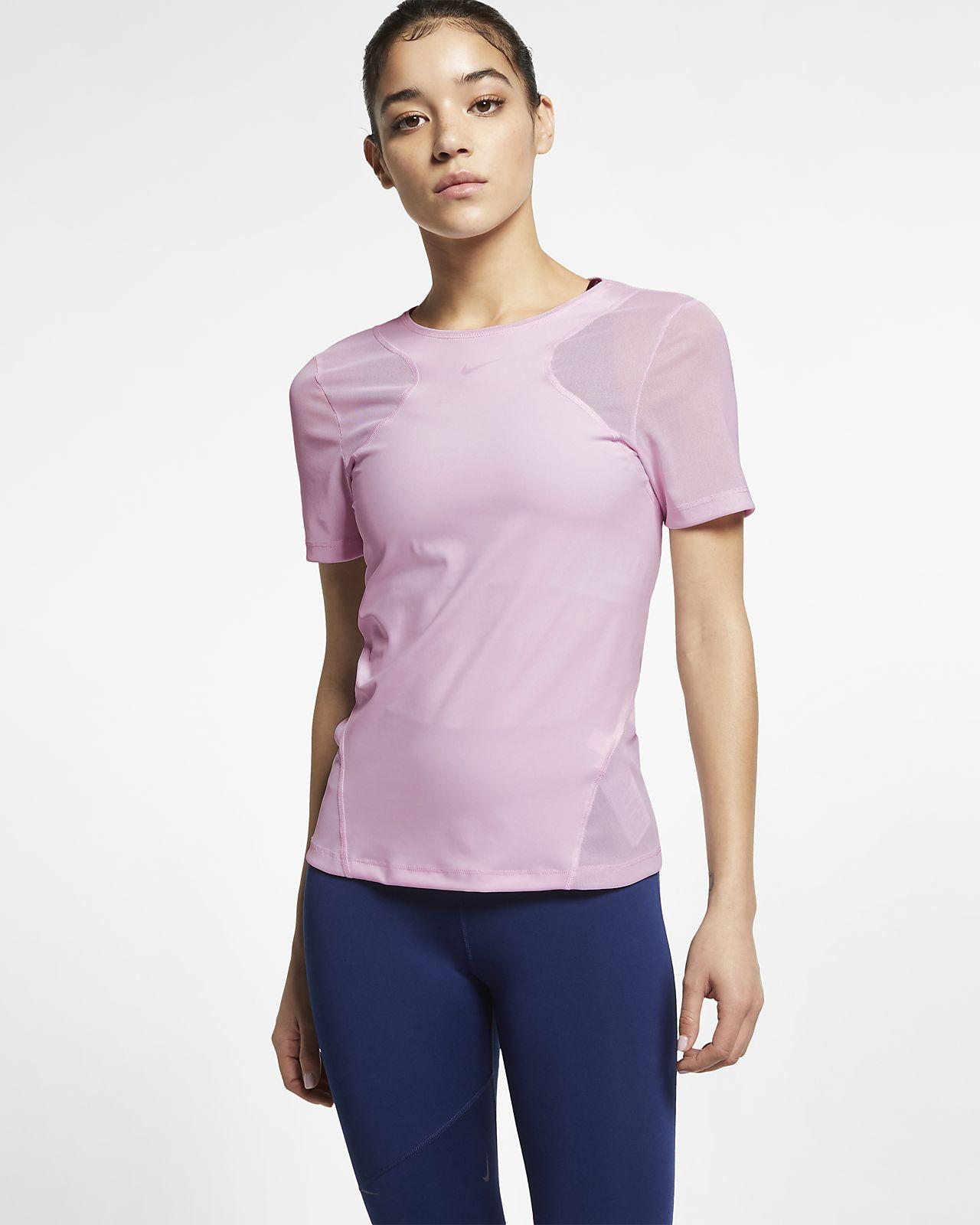 042e545a628d Γυναικεία κοντομάνικη μπλούζα Nike Pro HyperCool. Nike.com GR