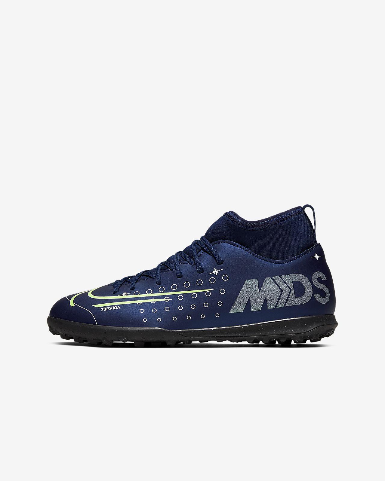 Scarpa da calcio per erba artificialesintetica Nike Jr. Mercurial Superfly 7 Club MDS TF BambiniRagazzi