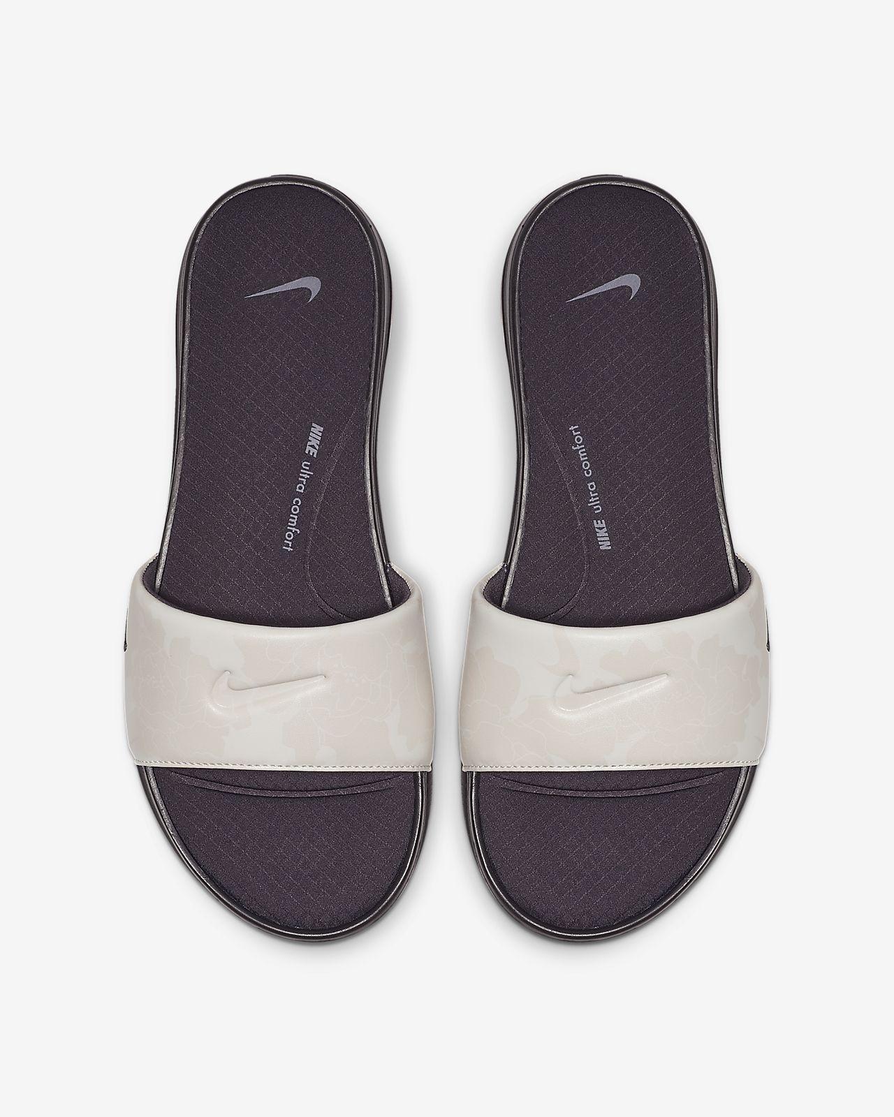 bonne vente de chaussures vente chaude en ligne classique Claquette Nike Ultra Comfort 3 Printed pour Femme