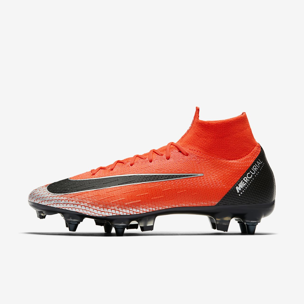 new product fe321 83f57 ... Chaussure de football à crampons pour terrain gras CR7 Superfly 6 Elite  Anti-Clog