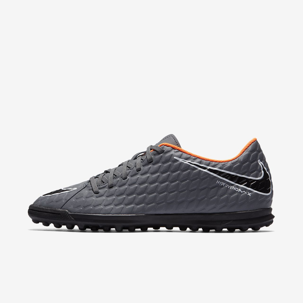 Nike Hypervenom PhantomX III Club TF Dark Grey White Total Orange AH7281081