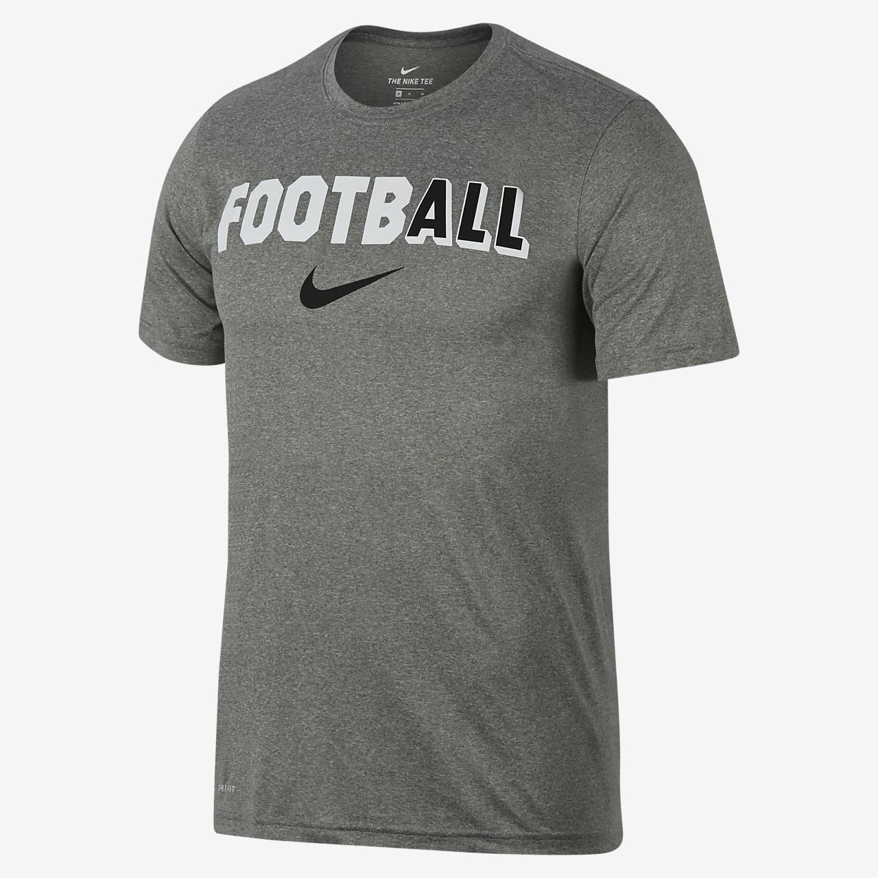 Nike Dri-FIT Men's Football T-Shirt. Nike.com