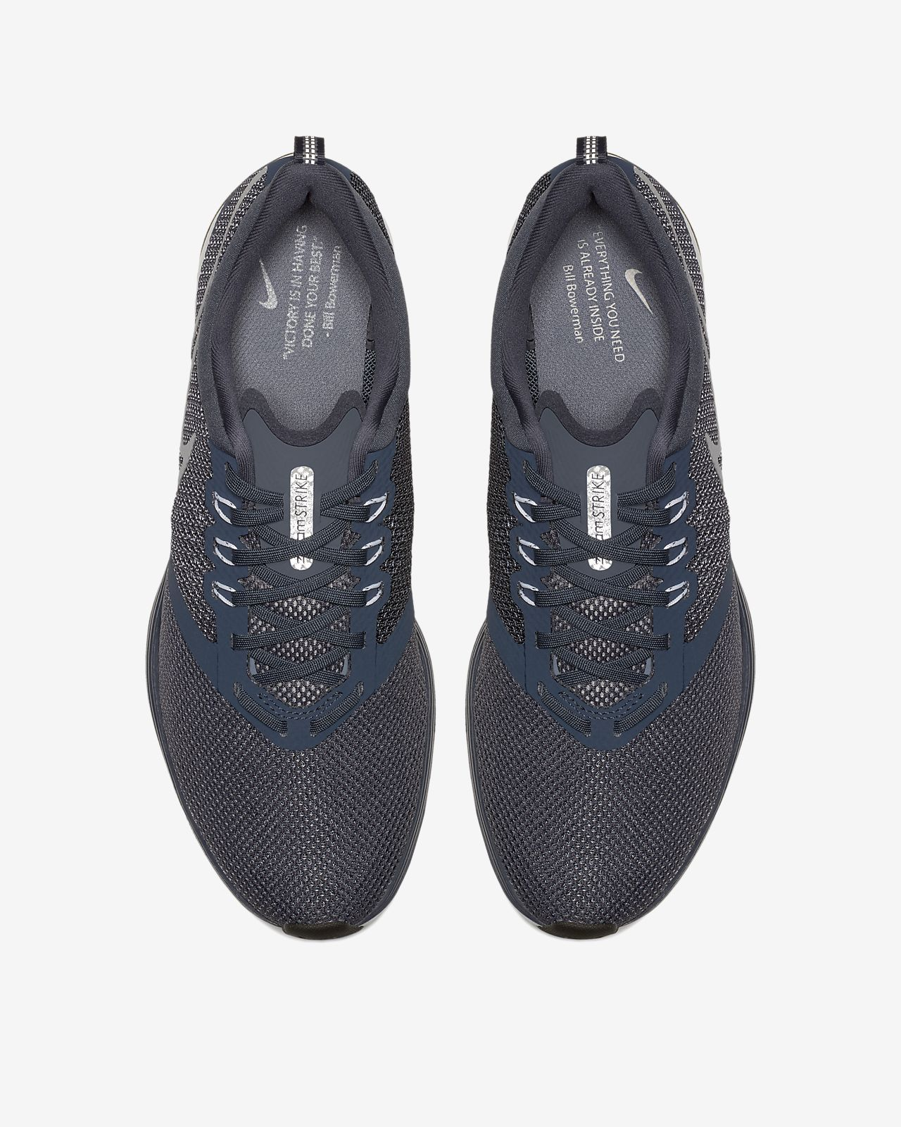 Nike Course Formateurs De Grève De Zoom Dans Aj0189-400 Bleu - Bleu chi3sKXU