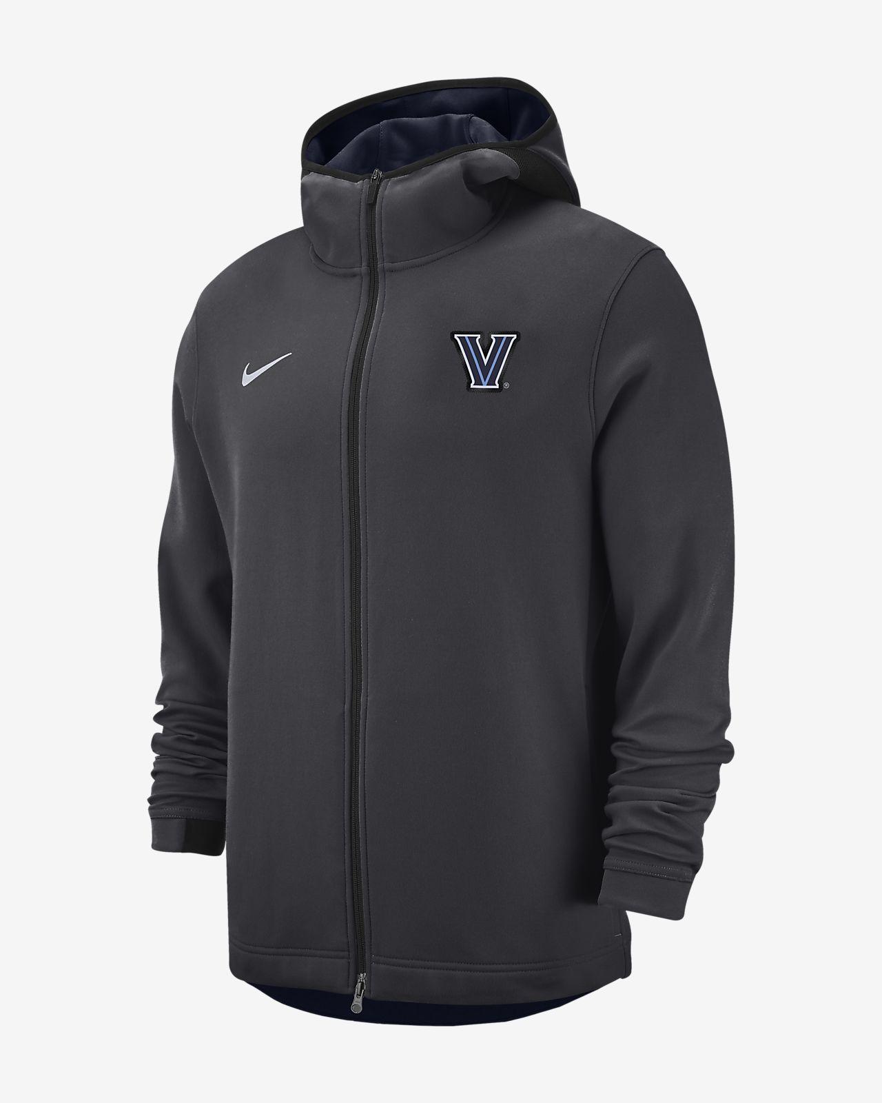 Nike College Dri FIT Showtime (Villanova) Men's Full Zip Hoodie