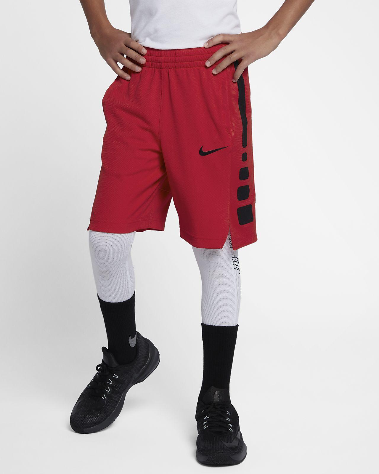 3bfe4464 Nike Dri-FIT Elite Big Kids' (Boys') Basketball Shorts. Nike.com