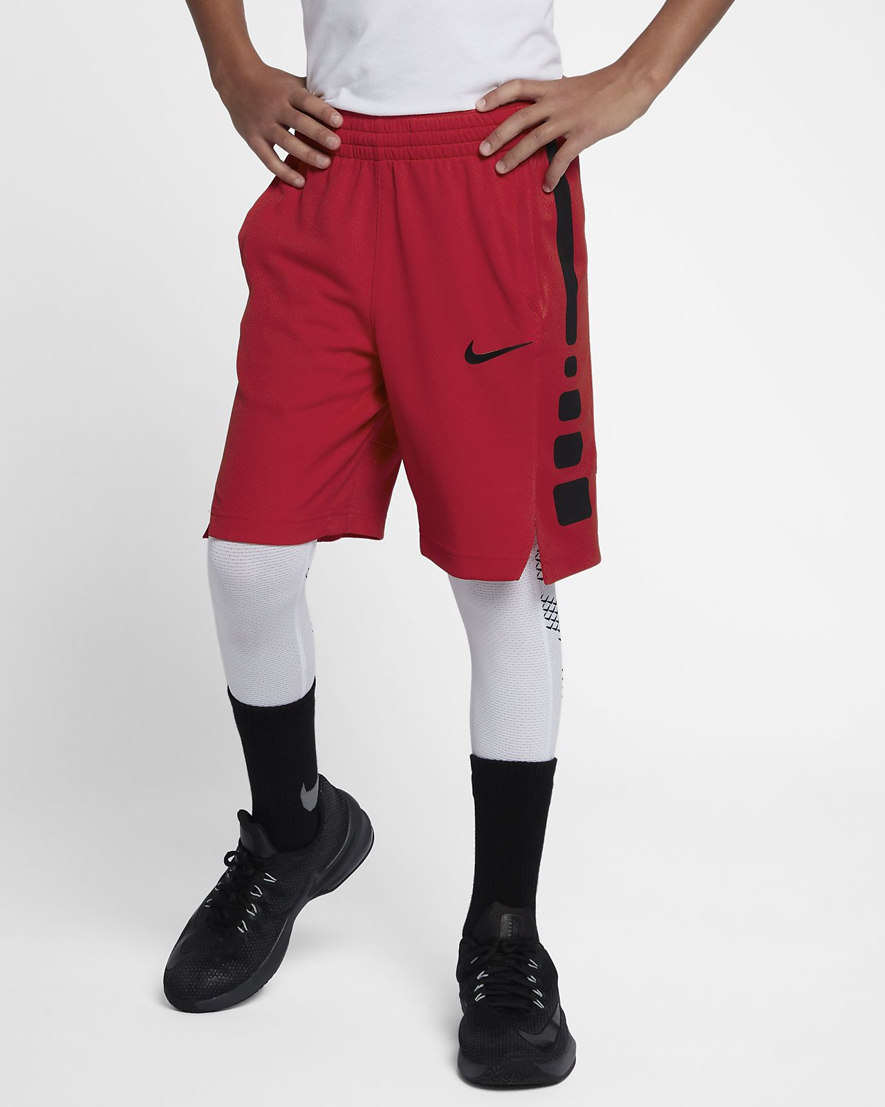 a4da3d23c008 Nike Dri-FIT Elite Big Kids  (Boys ) Basketball Shorts. Nike.com