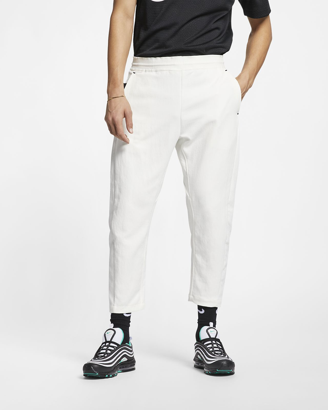 save off a1185 c75a1 Cropped Woven Pants. Nike Sportswear Tech Pack