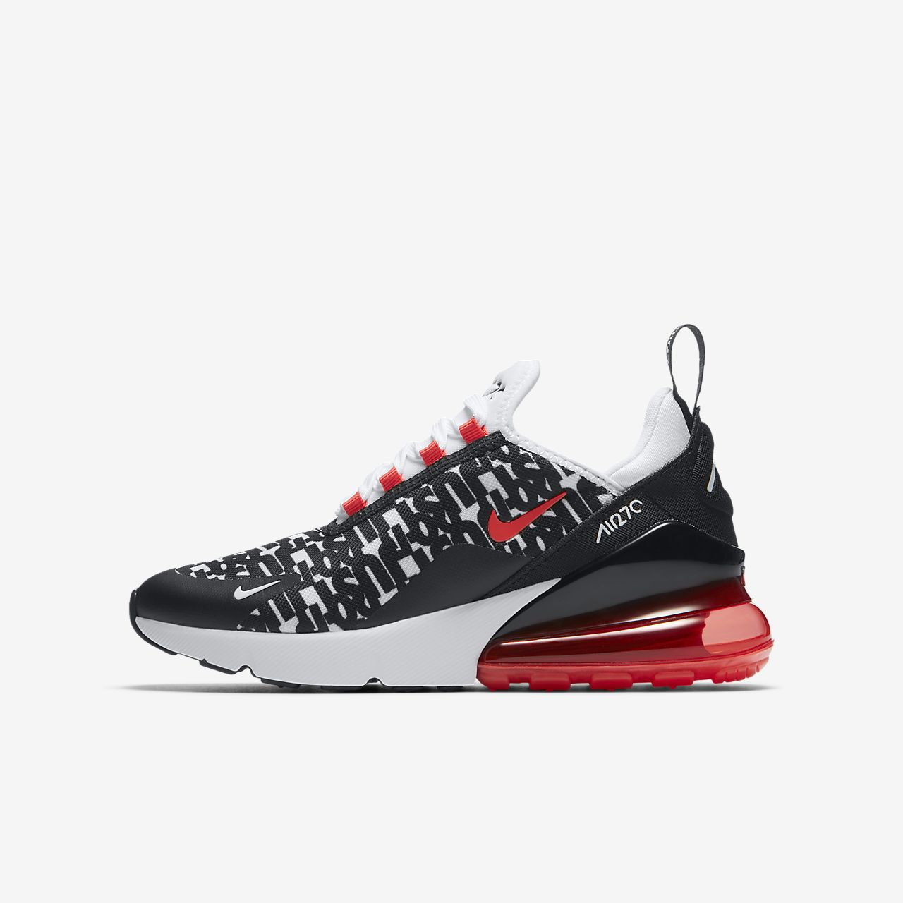 ... Nike Air Max 270 Print Big Kids' Shoe