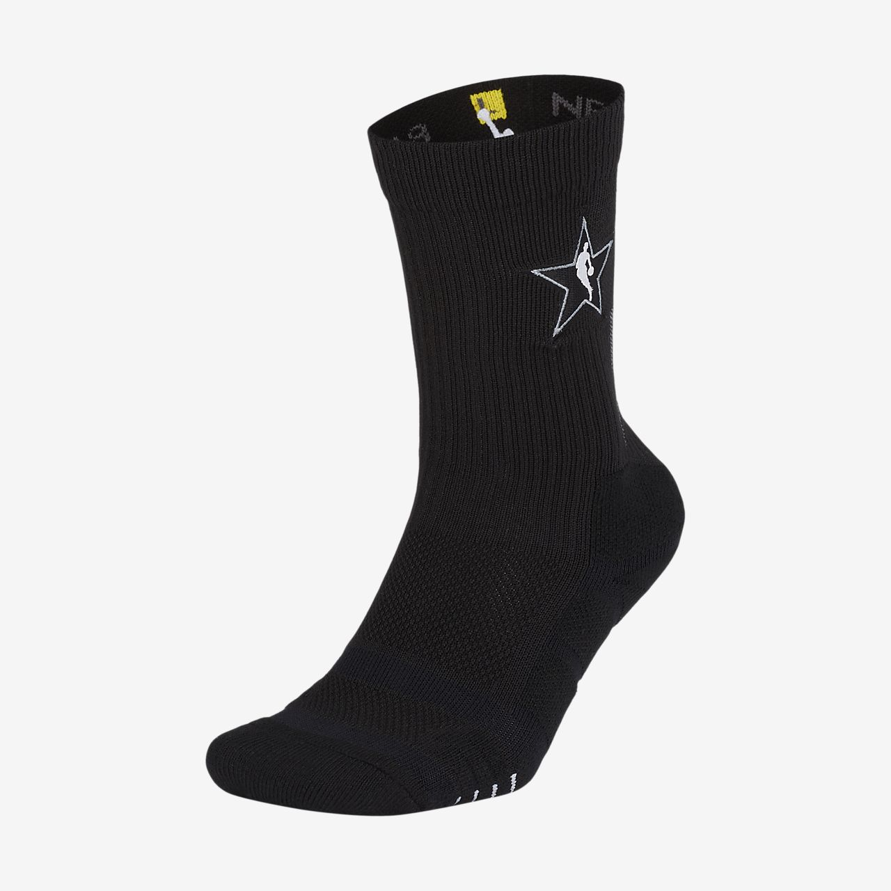 low priced fa50a 2e855 ... All-Star Edition Nike Elite Quick Unisex NBA Crew Socks