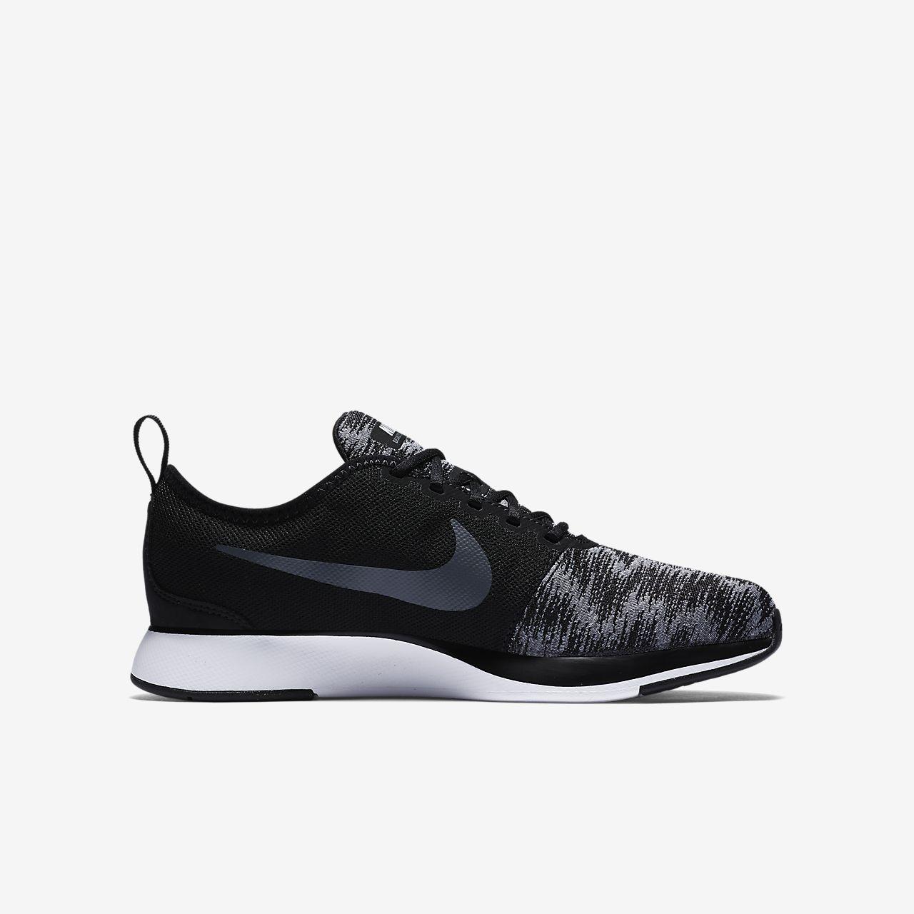 Nike Dualtone Racer Older Kids' Shoe White AT1068499