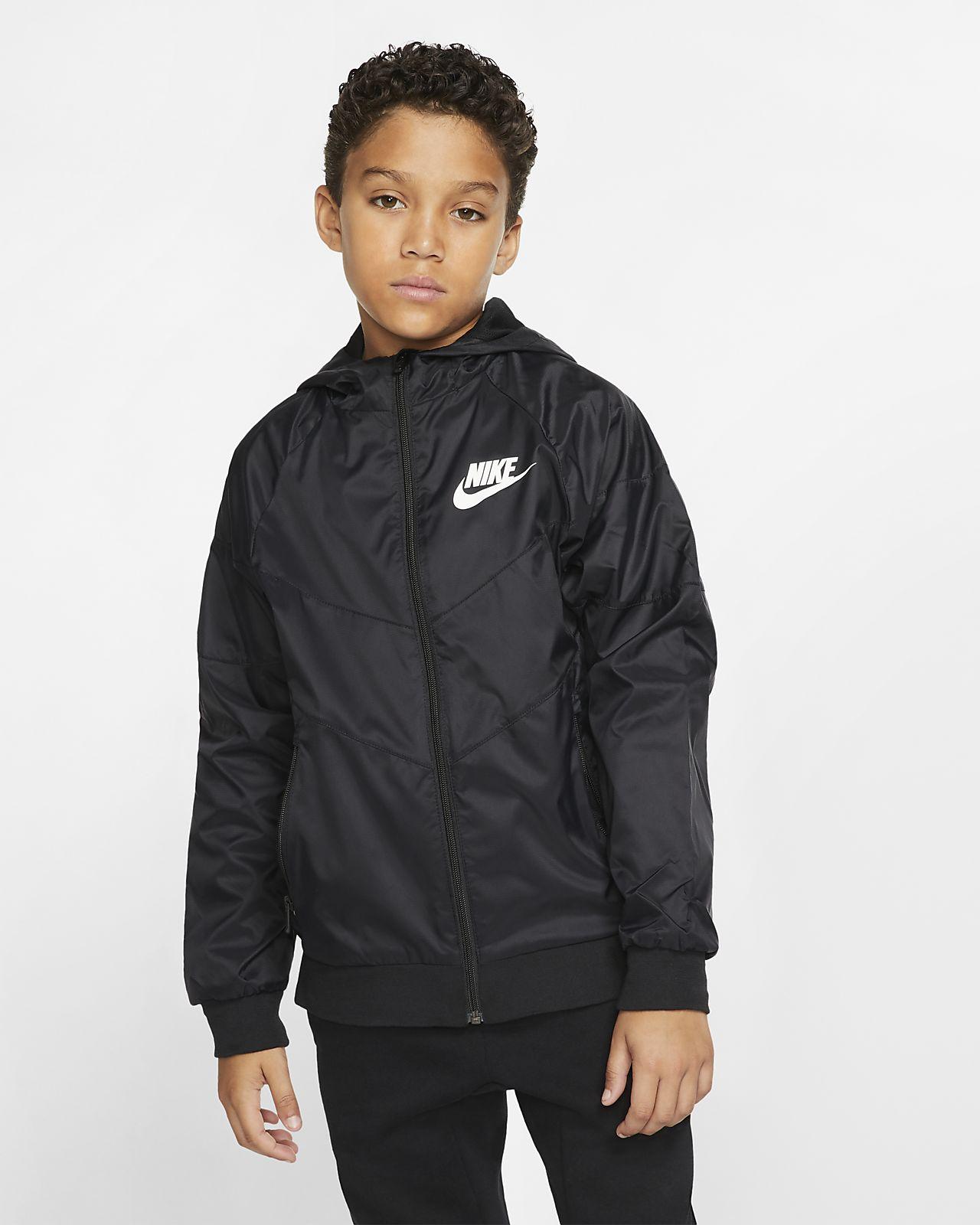 Kurtka dla dużych dzieci Nike Sportswear Windrunner