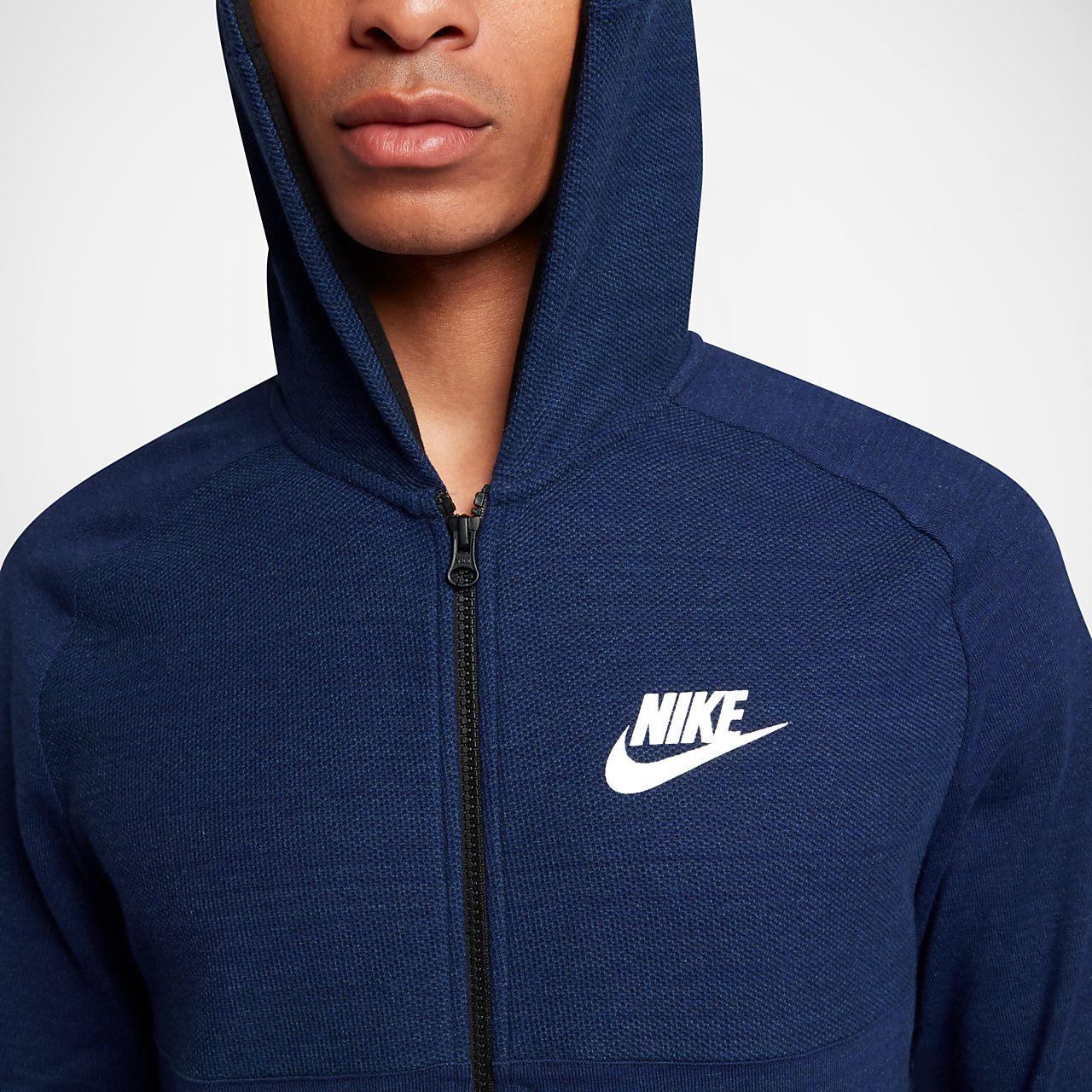 nike sportswear advance felpa zip