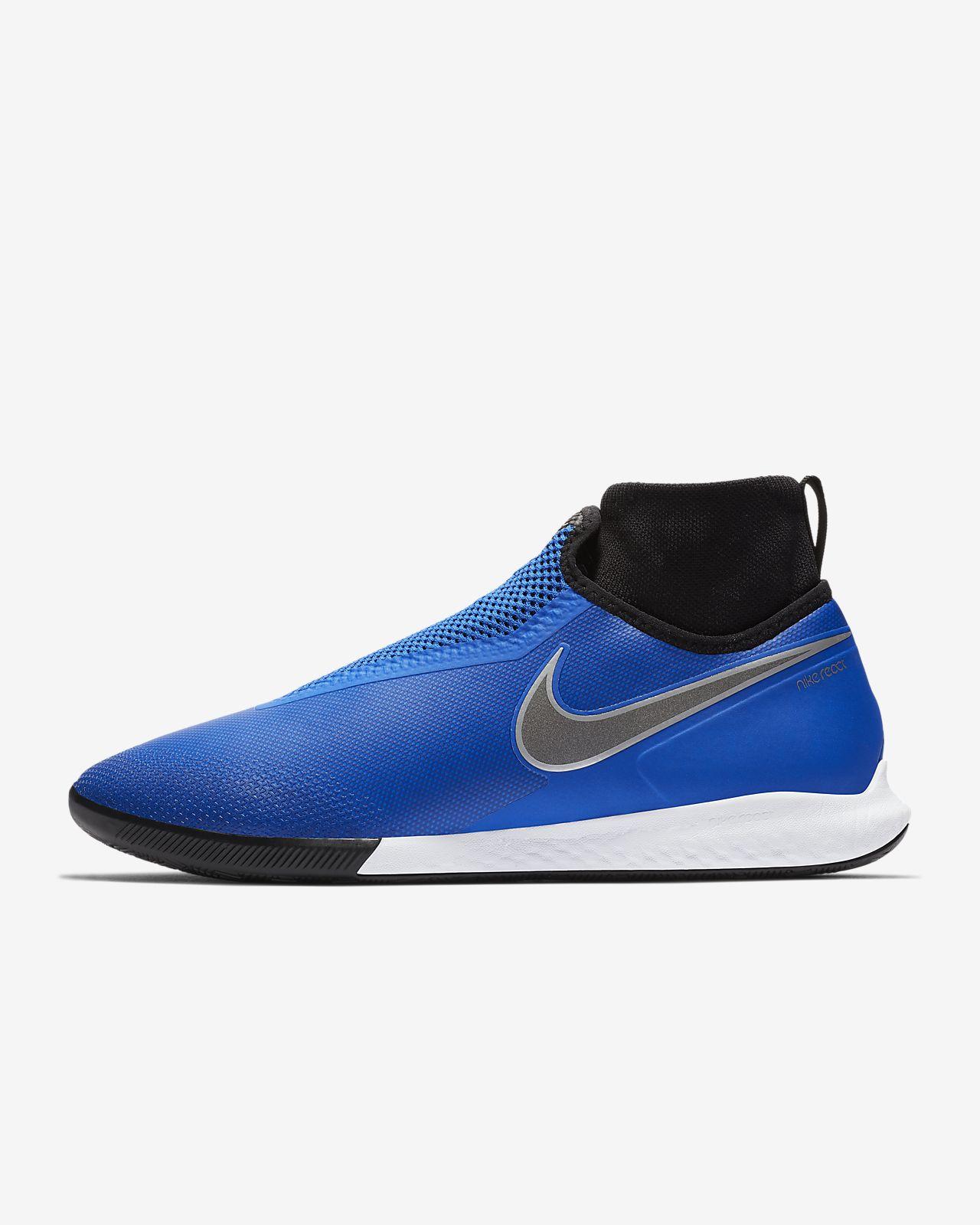 Calzado de fútbol para cancha cubierta Nike React PhantomVSN Pro Dynamic Fit IC