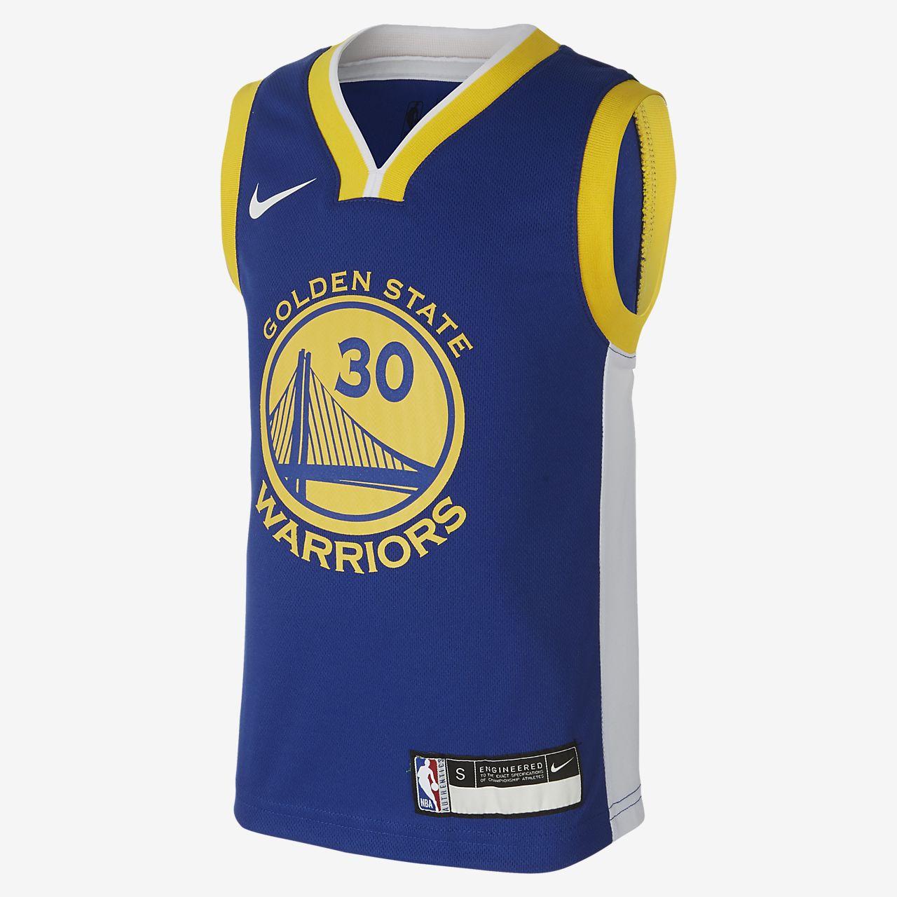 金州勇士队 Replica Icon Nike NBA Jersey 幼童球衣