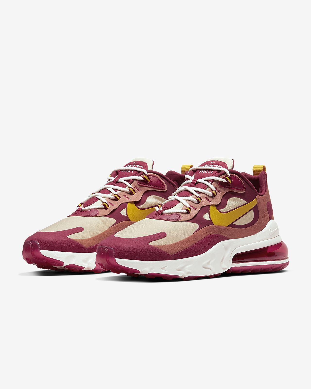 footwear to buy reputable site Nike Air Max 270 React Men's Shoe. Nike LU