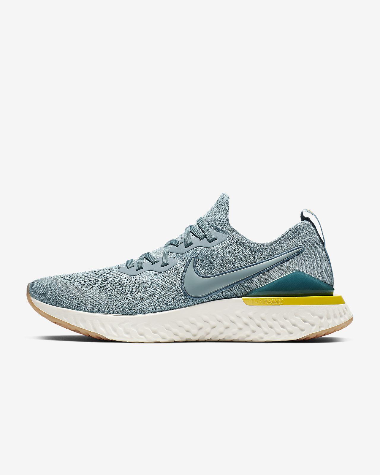 Nike Epic React Flyknit 2 男子跑步鞋