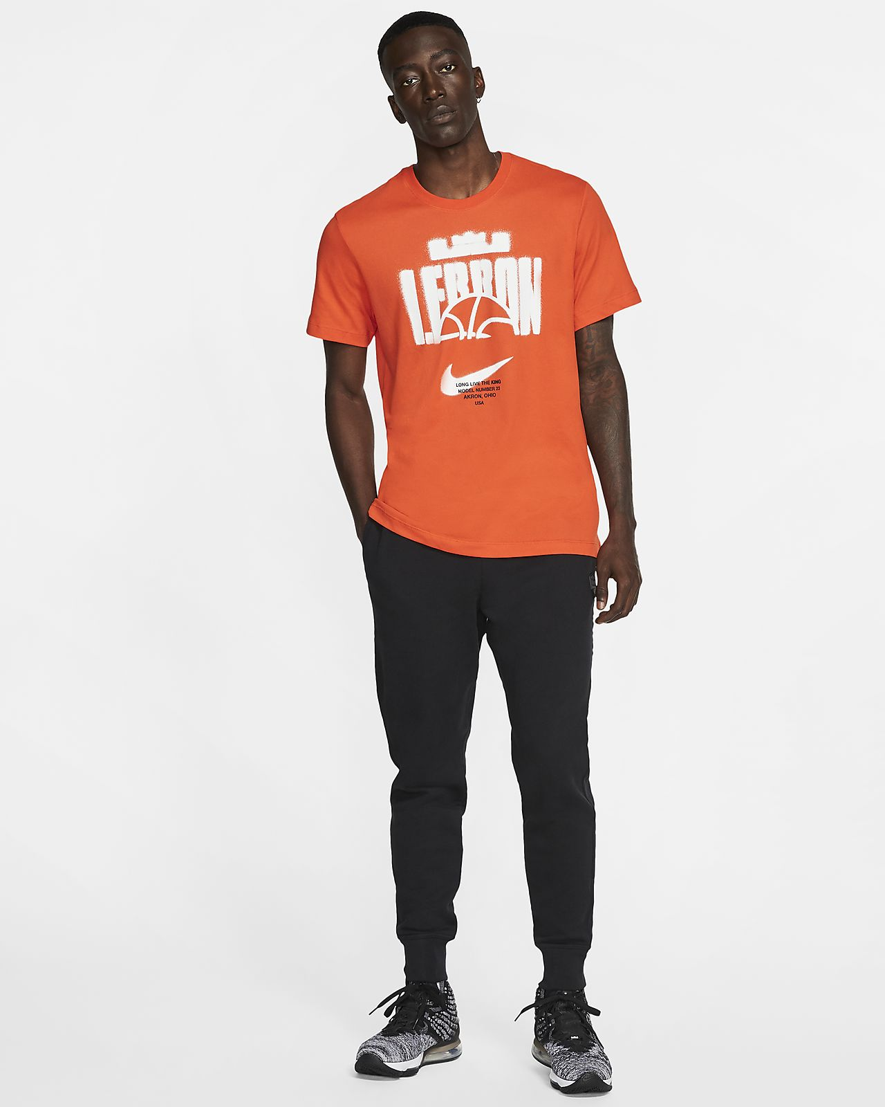 Whiteteam Orangeteam Orange Nike, Calzini da Basket