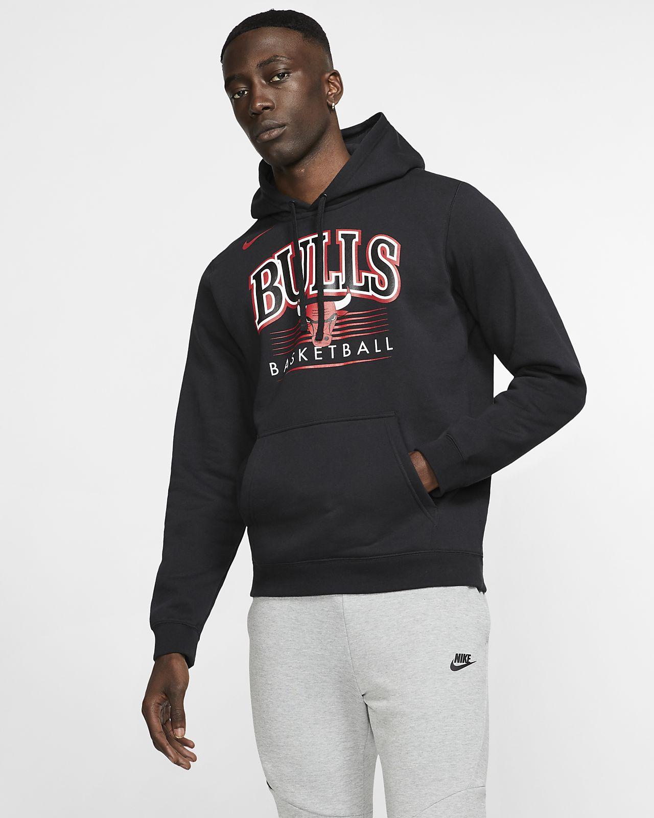 Pánská mikina s kapucí NBA Chicago Bulls Nike. Nike.com CZ b5fdc24fef