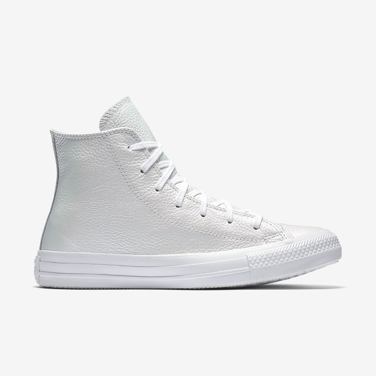 Women's Converse Chuck Taylor ... All Star Leather High Top Shoes EW3q4C