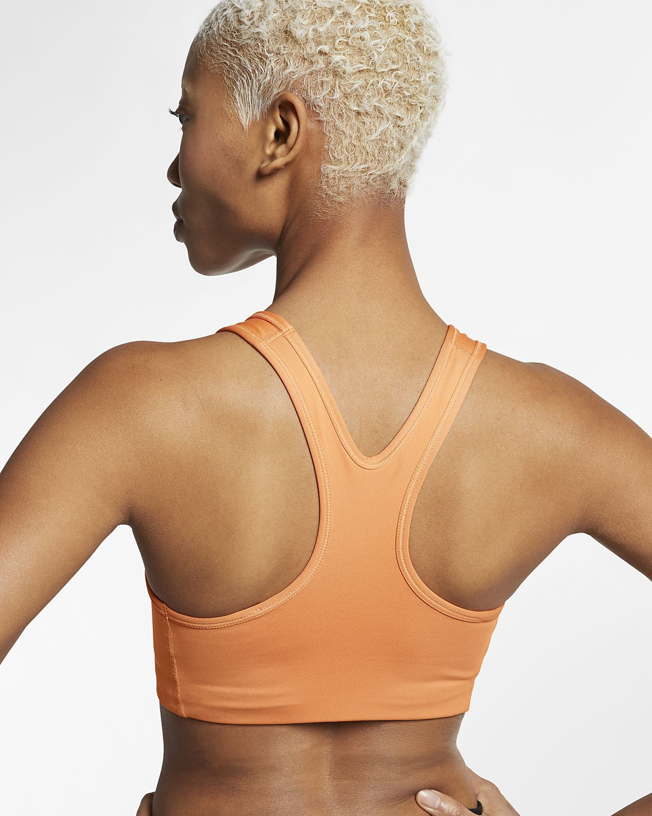 a6ee2def Nike Swoosh Women's Medium-Support Sports Bra