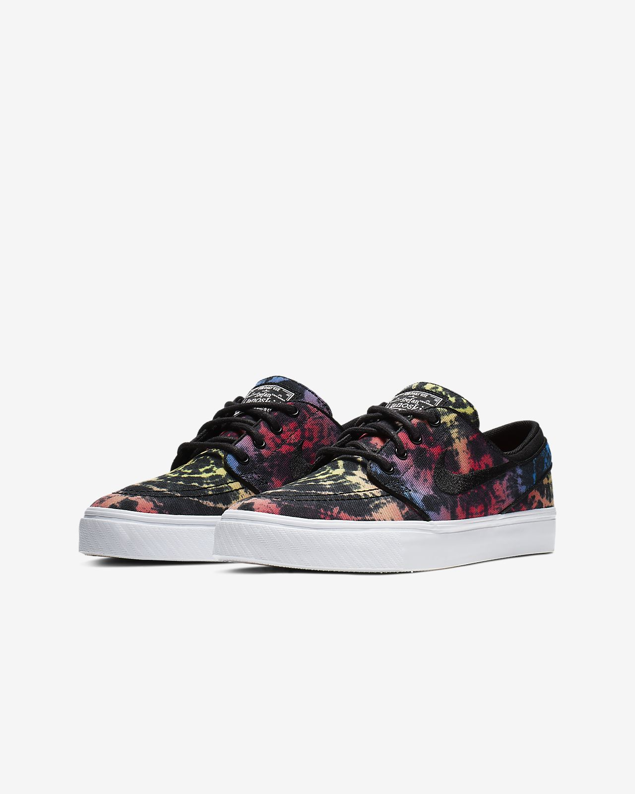 best service e86a0 01e3f ... Nike SB Stefan Janoski Tie-Dye Older Kids  Skate Shoe