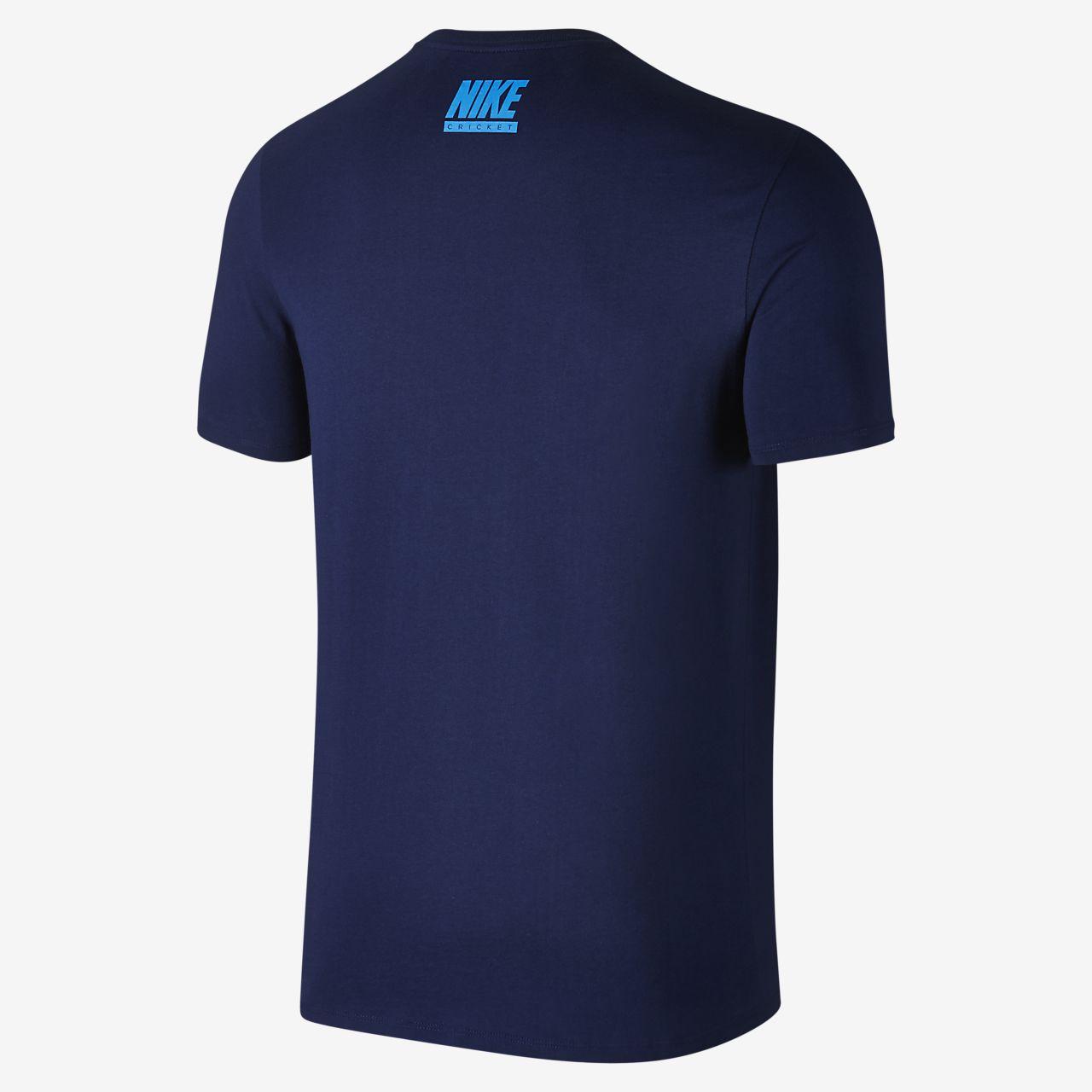 India Cricket Bleed Blue Men 39 S T Shirt Sg