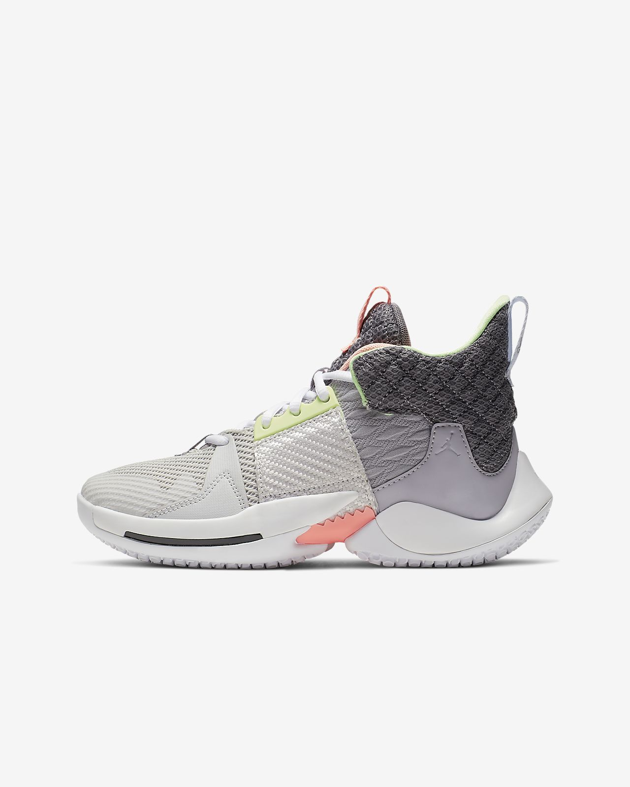 "Jordan ""Why Not?"" Zer0.2 Big Kids' Basketball Shoe"