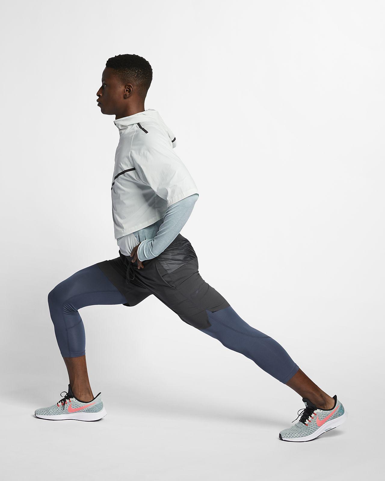 Mens Nike Running 2 in 1 Tech Pack Shorts Training Tights Sz XL AR9823 060 NEW