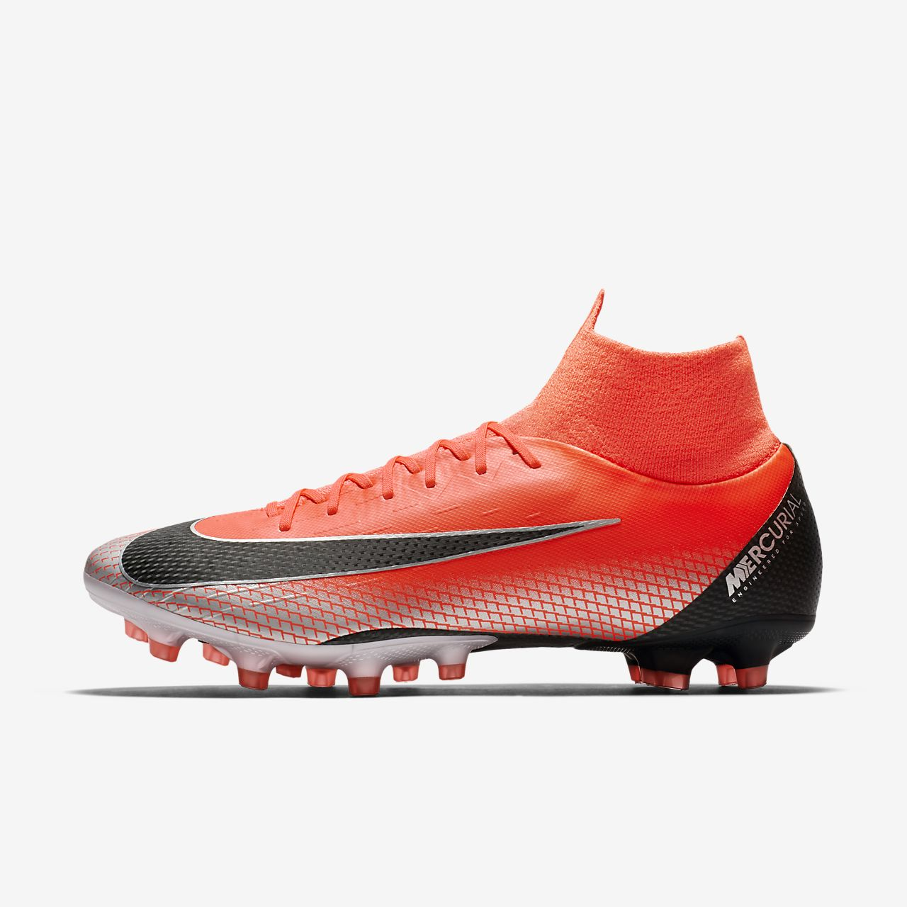 18b13ed15 ... soccer cleats hyper pink black fea8d 586e0  coupon nike mercurial  superfly vi pro cr7 ag pro fußballschuh für kunstrasen 7beee 9662c
