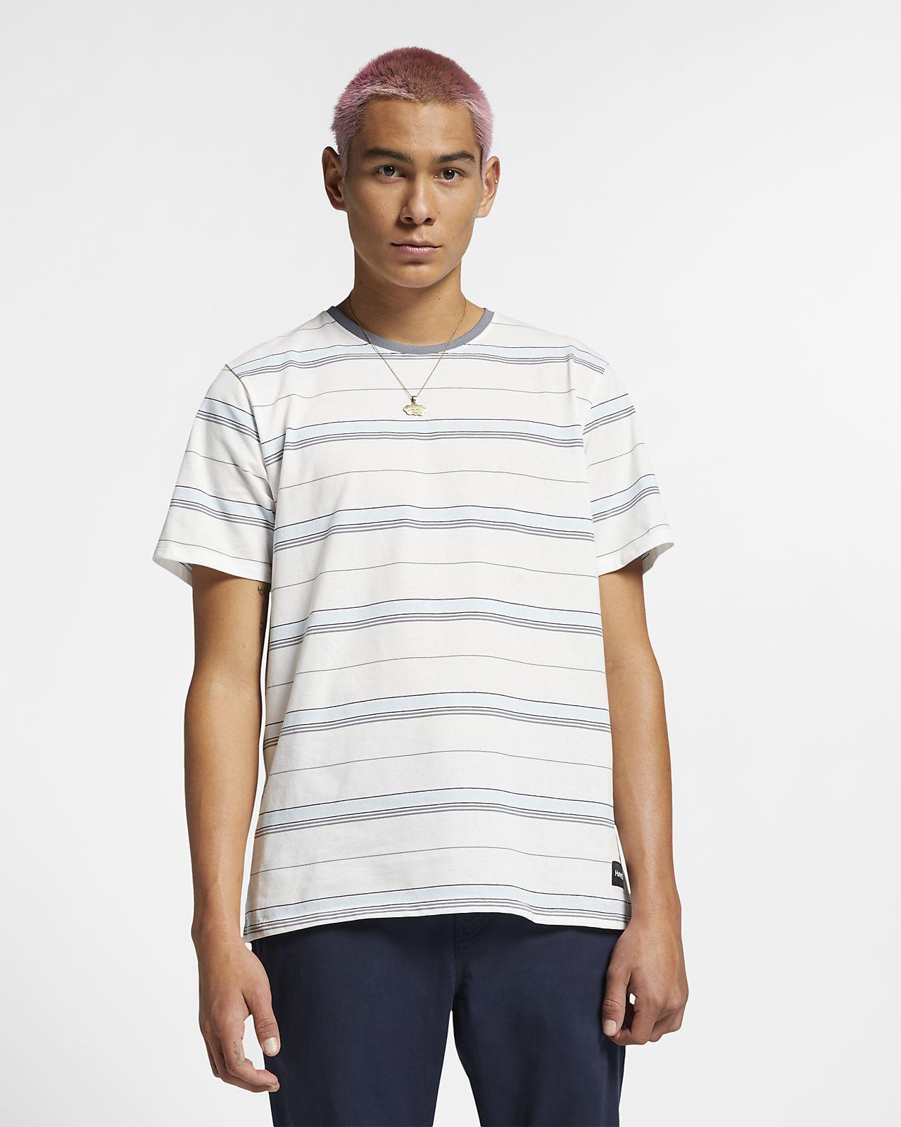 Pánské pruhované tričko Hurley Dri-FIT Harvey