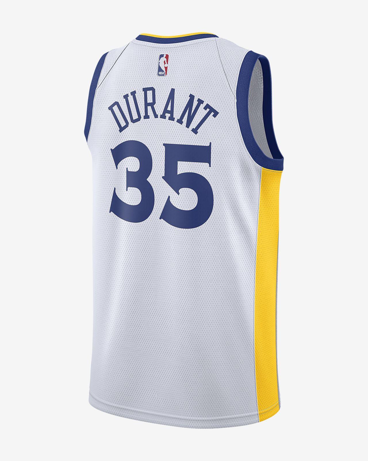 73ed14395d5af ... Maillot connecté Nike NBA Kevin Durant Association Edition Swingman (Golden  State Warriors) pour Homme