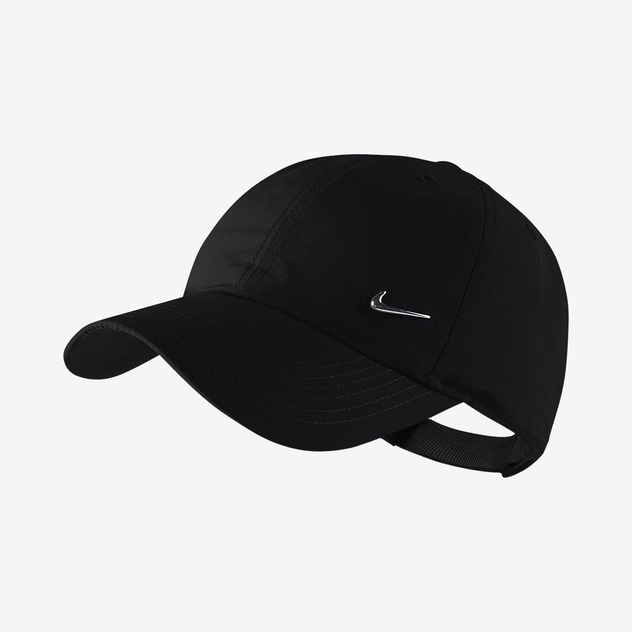 Regulowana czapka dla dużych dzieci Nike Metal Swoosh