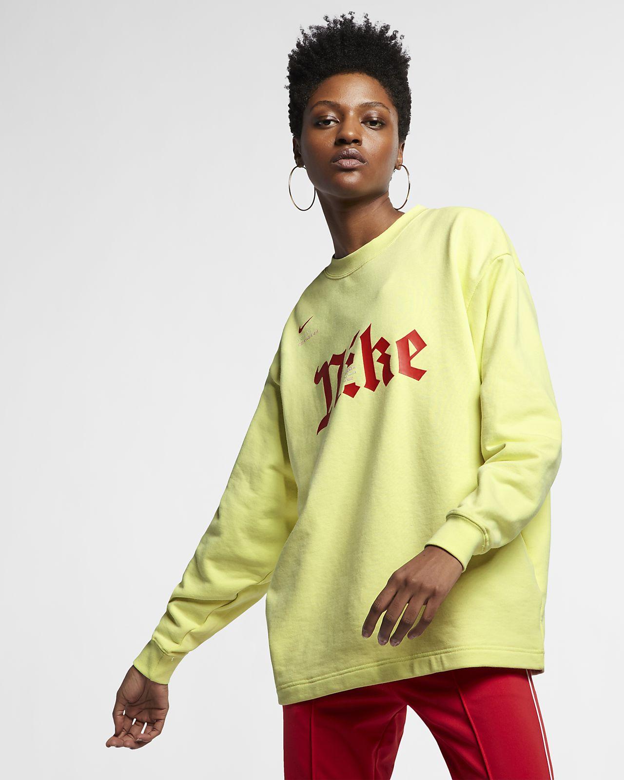 Nike Sportswear Unisex Long-Sleeve Fleece Crew by Alexis Quintero