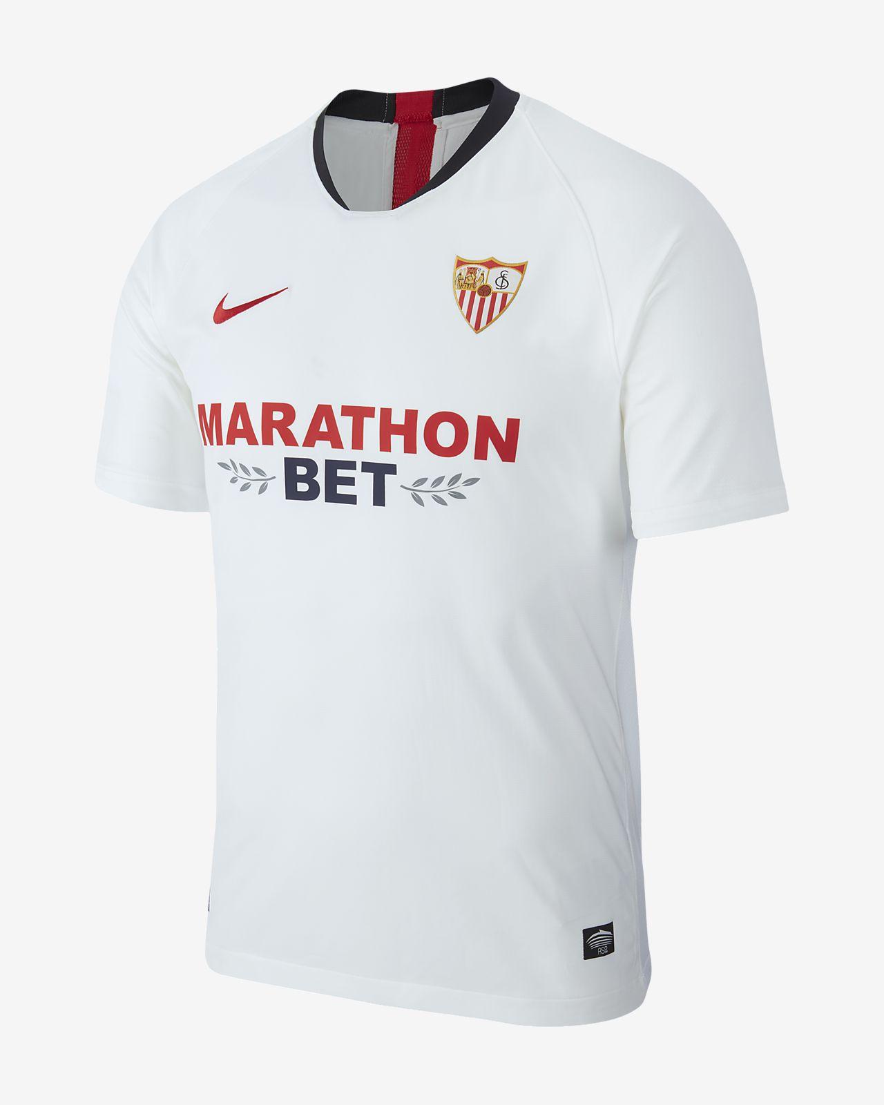 Sevilla FC 2019/20 Stadium Home Men's Football Shirt