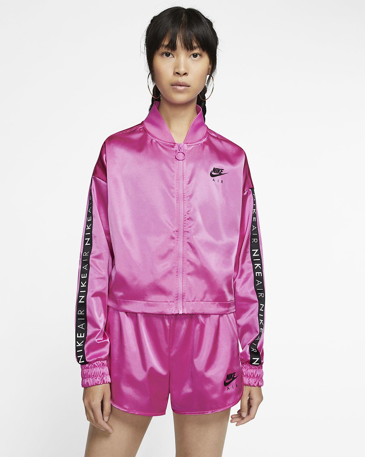 Nike Air Jaqueta de xandall setinada - Dona