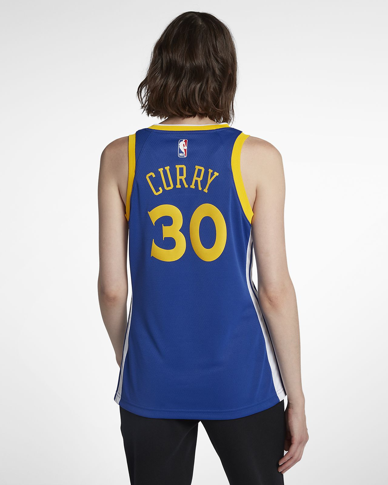 4857b7f2362 ... Camiseta Nike NBA Connected para mujer Stephen Curry Icon Edition  Swingman (Golden State Warriors)